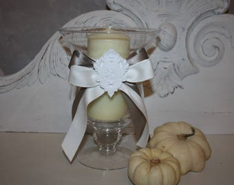 Candle glass for glow charm