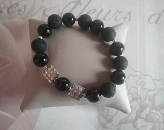 Bracelet pearls man
