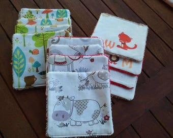 set of 12 baby wipes