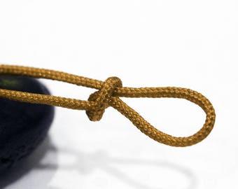 10 m cord nylon mustard diameter 1.5 mm