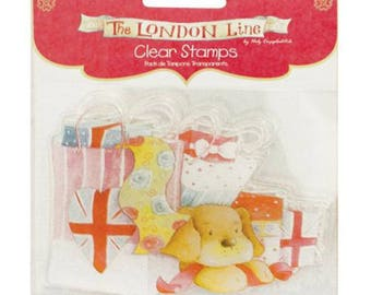 Stamps transparent clear stamps retail therapy - 002027
