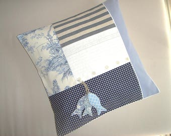 Cushion cover 40 x 40 sea atmosphere