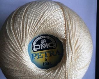 DMC Petra No. 5 - ball 100gr reference 54459 natural