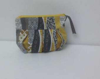 Bag, clutch bag in ethnic patterns