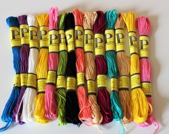 Embroidery thread cotton
