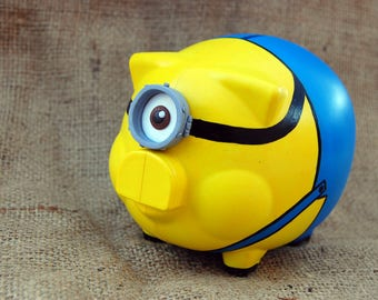 Hand Painted piggy Bank