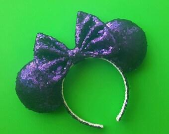 Purple mouse ears