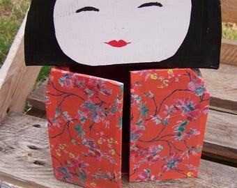 child jewelry cardboard box, kokechi