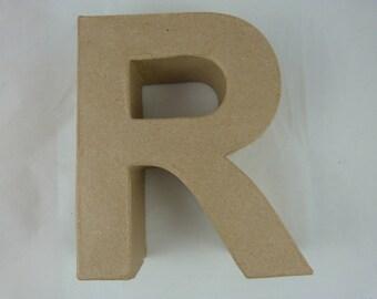 "Letter 3D decoration for home decor ""R"""