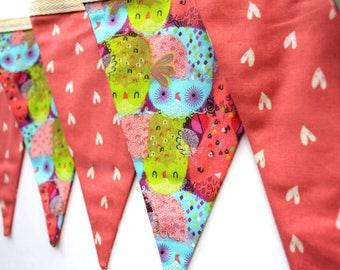 Personalised Fabric Name Bunting, Name Banner