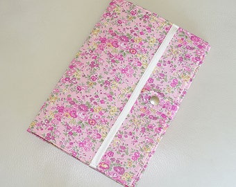 Hard cover to my health - flowers - pink