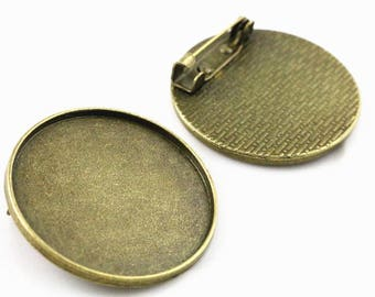 30mm 1 brooch cabochon 30 mm