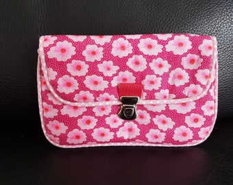 Bezel or smart case pink flowers