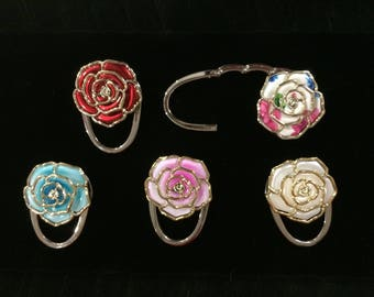 Rose Purse Hook