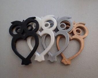 5 x in packs of 5 OWL pendants