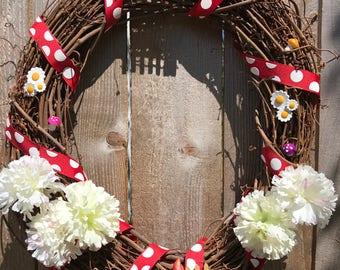 Gnome Welcome Wreath