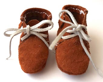 Baby Moccassins - Newborn Moccassins - Newborn Gift - Babyshower Gift - Baby Shoes - Newborn Shoes - Little Moccassins
