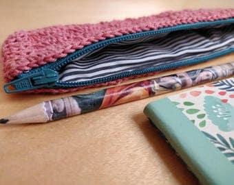 Crochet Pencil Case