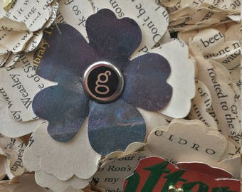 Maid of Honor Book Bouquet, Brooch Bouquet