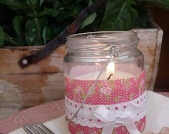 liberty candle for rustic wedding