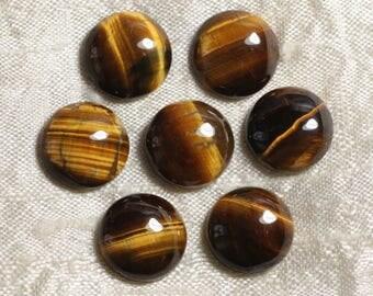 1pc - stone round 20mm - 4558550036704 Tiger eye Cabochon