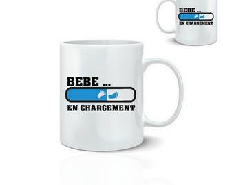 Baby boy mug - mug 325 ml ceramic