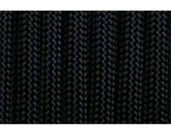 Paracord 550 type III black 1 m length
