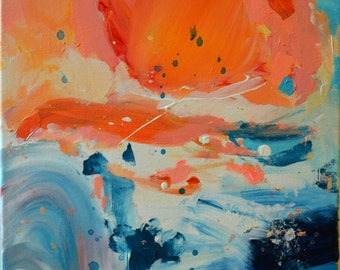 High Tides - Abstract Acrylic painting