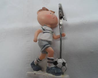 miniature door resin soccer player boy name pictures