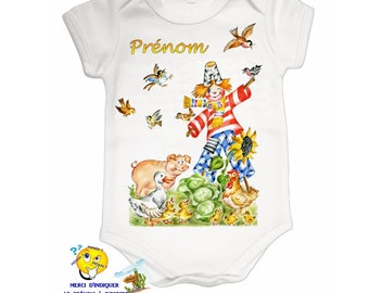 Onesie personalized with name ref 01