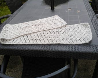 HAND CROCHETED WRAP OR SHAWL MADE