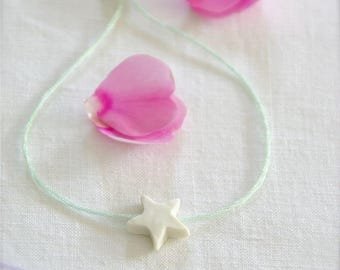Green bracelet of water 'Daydream' Creation China © ✭