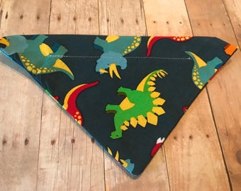 Dinosaur dog bandana