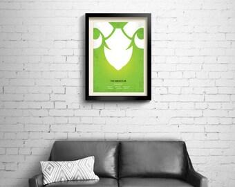 The Wrestler - alternative, minimalist movie poster, Darren Aronofsky, art print, home decor