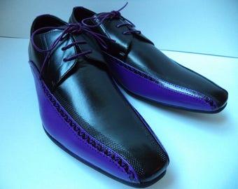 Baltik - Purple patterned size 44
