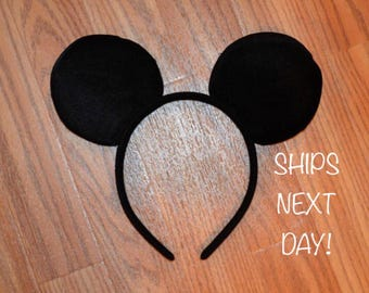 FREE SHIPPING********Mickey Mouse Ears Headband