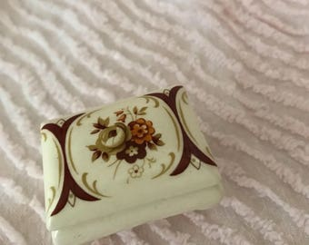 Vintage Miniature Trinket Box