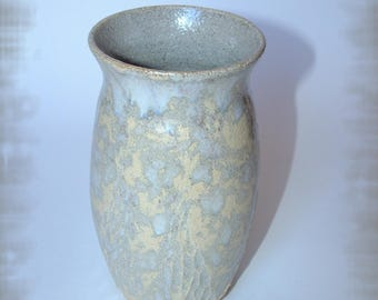 Zen stoneware vase
