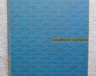 "1964 UCLA Yearbook: ""Southern Campus"" First UCLA NCAA Basketball Championship and More"