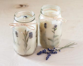Homemade Aromatic Organic Soy Candles