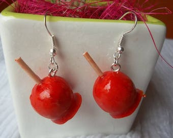 toffee Apple earring
