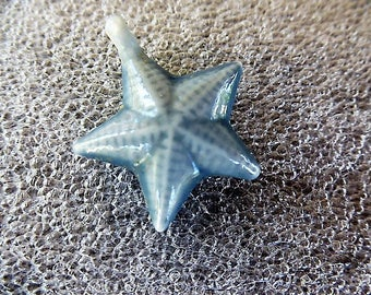 Star charm Star academy 2004 Pearl ceramic, porcelain, pendant for jewelry making