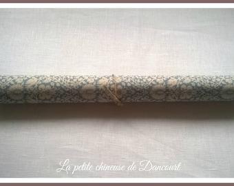 Fabric self sticking Tilda floral blue