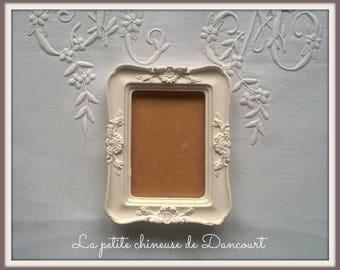 Rectangular plaster frame