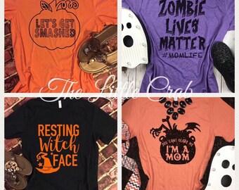 Halloween Tees- Take your pick!