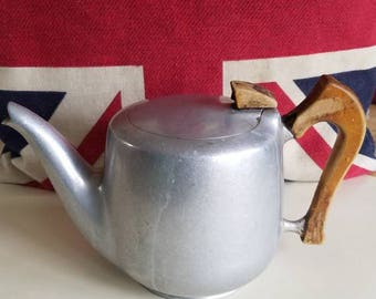 Vintage British Aluminum Coffee Pot!