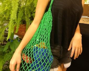 Shopping Bag | Woven Bag | Crochet | Crochet Bag | Ecologic Bag | Market