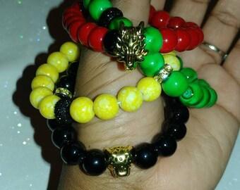 Bob Marley bracelet set