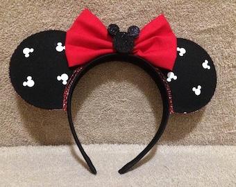 Mickey Head Print Mickey Ears