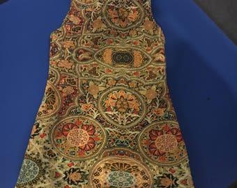 Mosaic print womans dress size 8
